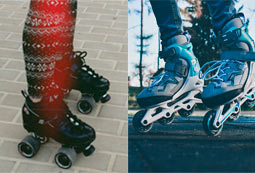 Comprar patines en linea para adultos y niños en oferta o comprar patines clásicos baratos para niños y adultos