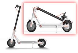 Comprar patinetes eléctricos plegables - ahorrar espacio con patinetes marca Xiaomi baratos en oferta